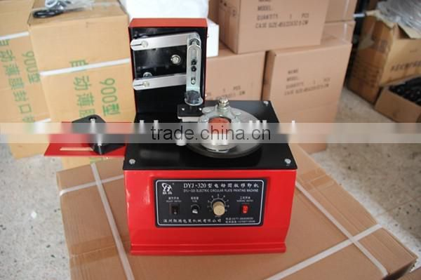 DYJ 320 type Electric round Plate Ink Pad Printing Machine of Coding