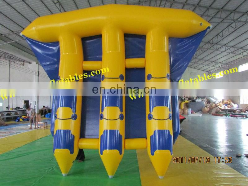 Inflatable Boat, Inflatable Flyfish, Water Park Inflatables