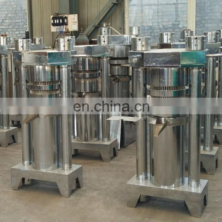 automatic sesame oil making machine hydraulic castor oil press machine
