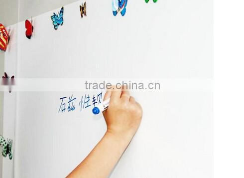 Iron / soft magnetic whiteboard whiteboard wall stickers affixed with imported erasable picture
