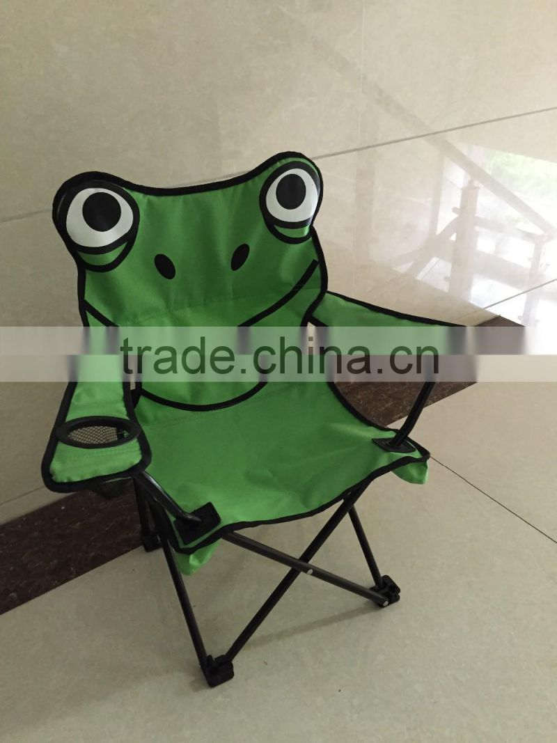 Animal cartoon picture printing folding kid's camping chair