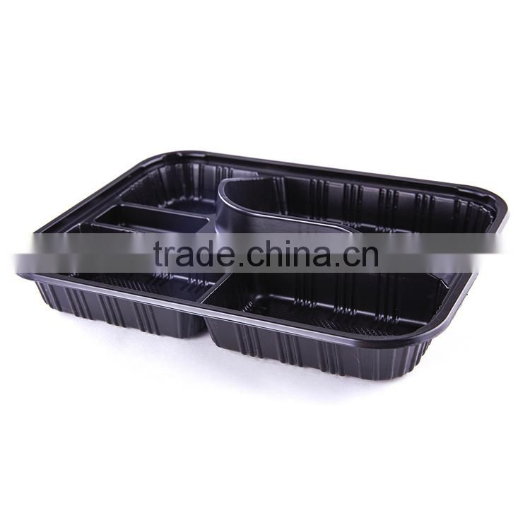 503ed2fce32e 4 compartments disposable plastic Japanese bento lunch box food ...