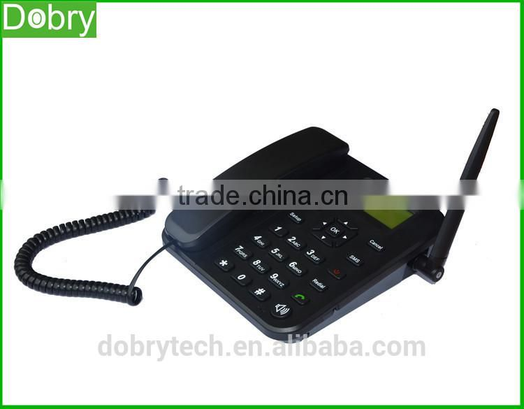 Factory price GSM FWT fixed wireless terminal cordless phone with USB GPRS Internet data service