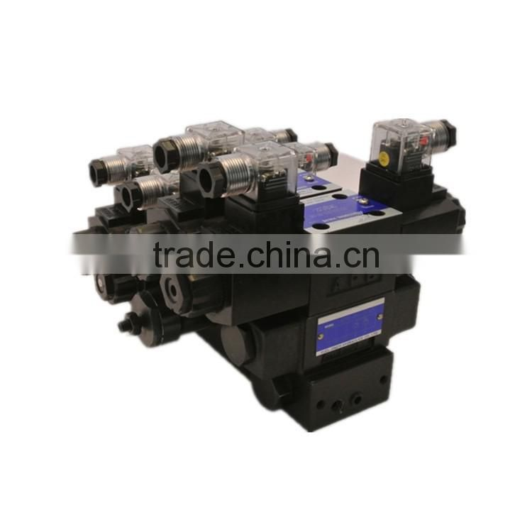hydraulic four column roll forming machine hydraulic valve bank