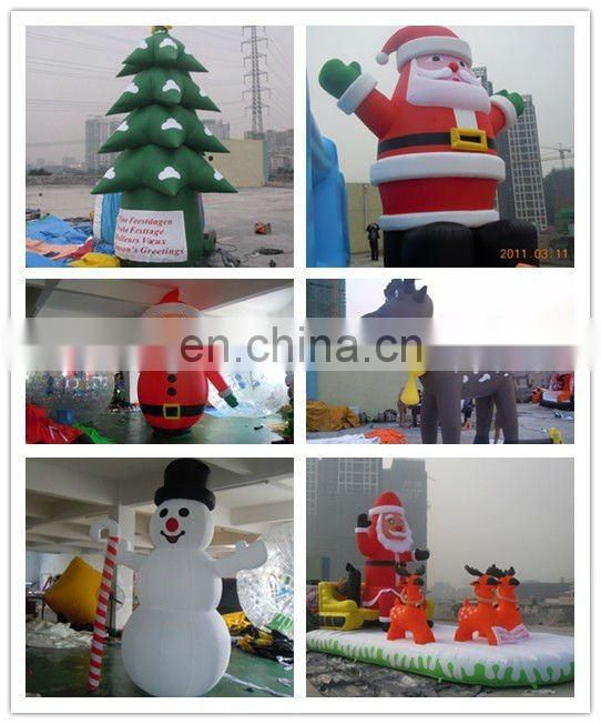 Lovely inflatable Christmas tree shape/santa tree