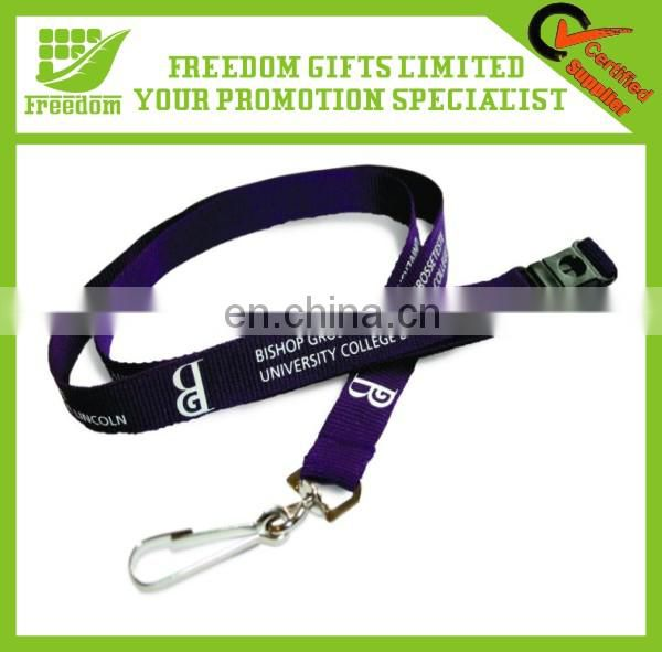 Hot Sale Heat Transfer Polyester Lanyard Card Phone Holder