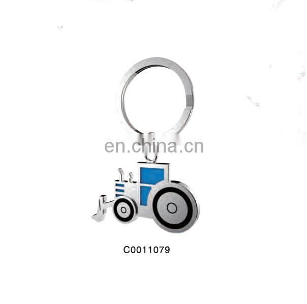 PROMOTIONAL ALLOY METAL CONSTRUCTION GRAB KEYCHAIN