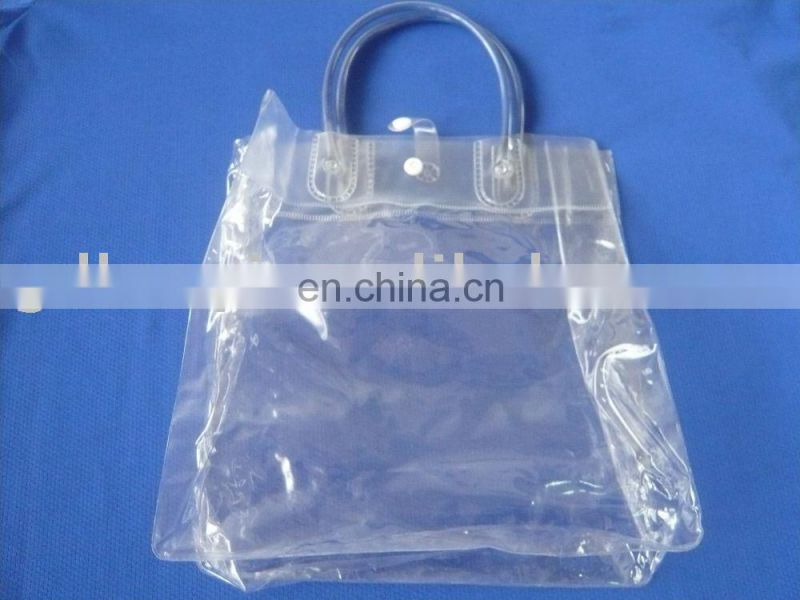three-dimensional stand up PVC toiletry packing bag; PVC cosmetic bag