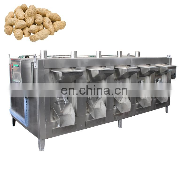Big capacity used peanut roaster for sale Image