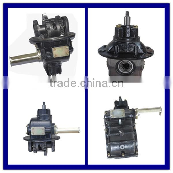 High quality tricycle rear axle gearbox differential