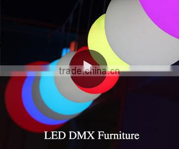 Music Control Bar Furniture Decking LED High Bar Table GKT-106DC