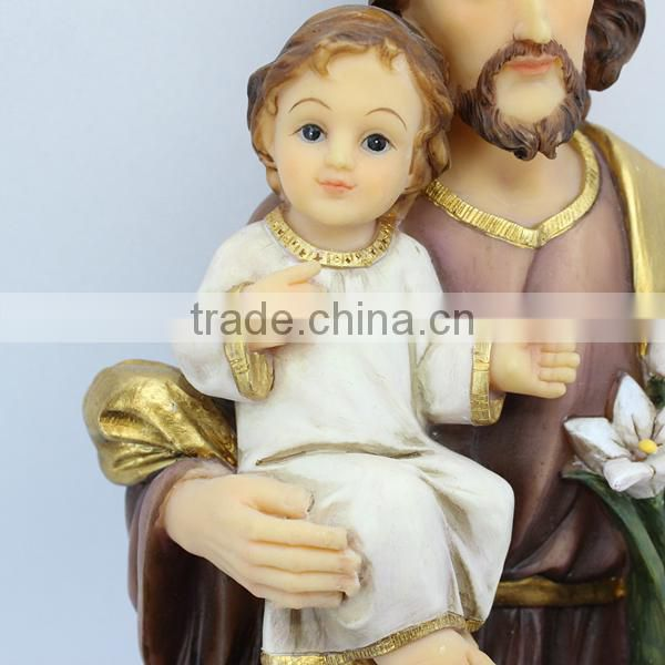Wholesale custom collection resin religious jesus statues