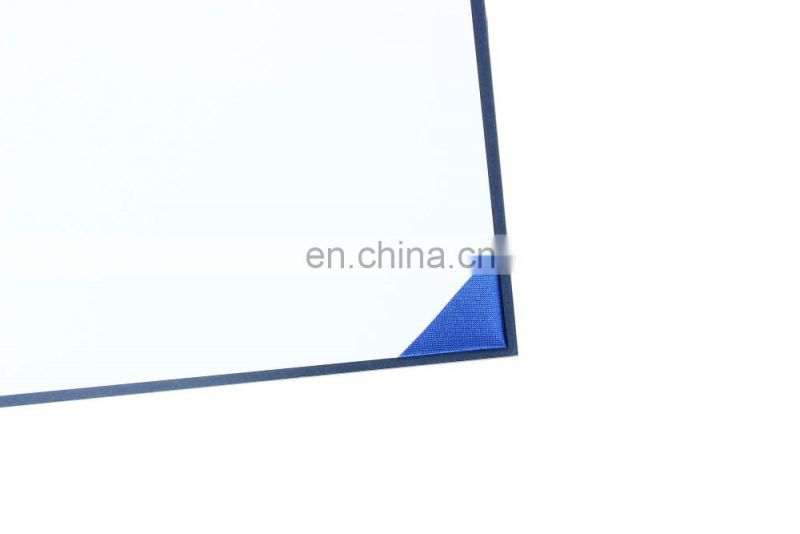 Smooth Leatherette Diploma Ceritificate Cover Navy color