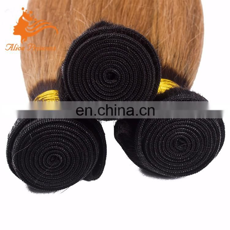 wholesale price 100% full peruvian silk straight blonde deep wave hair weft