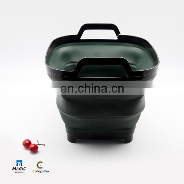 10.5L Collapsible Plastic Bucket