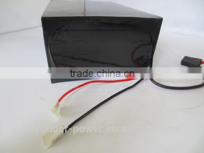 New style crazy selling China supplier cheap lithium iron phosphate battery pack with unique design for e-bike or e-scooter