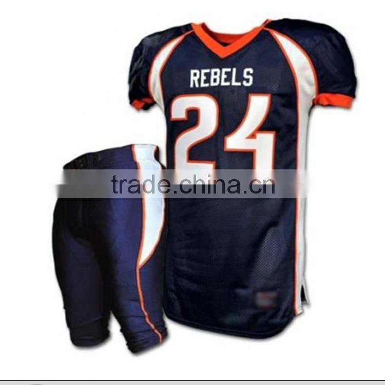 e5572ee3b cheap kids american football jersey/ spandex american football uniforms  Image