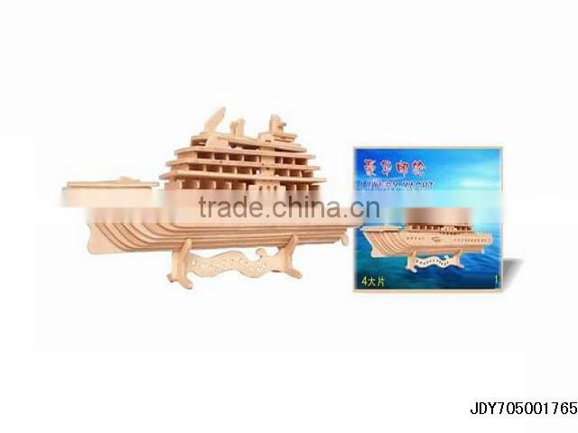 Wooden DIY Toys Wholesale Building Intelligence Toy