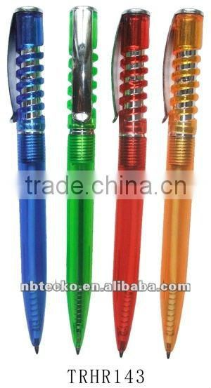 hot selling spring ball pen for Promotional