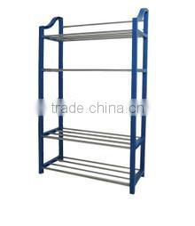 plastic shoes display rack in special style