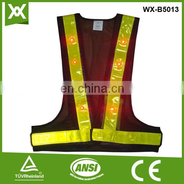 Cheap reflective safety vests with zipper of cheap military vest