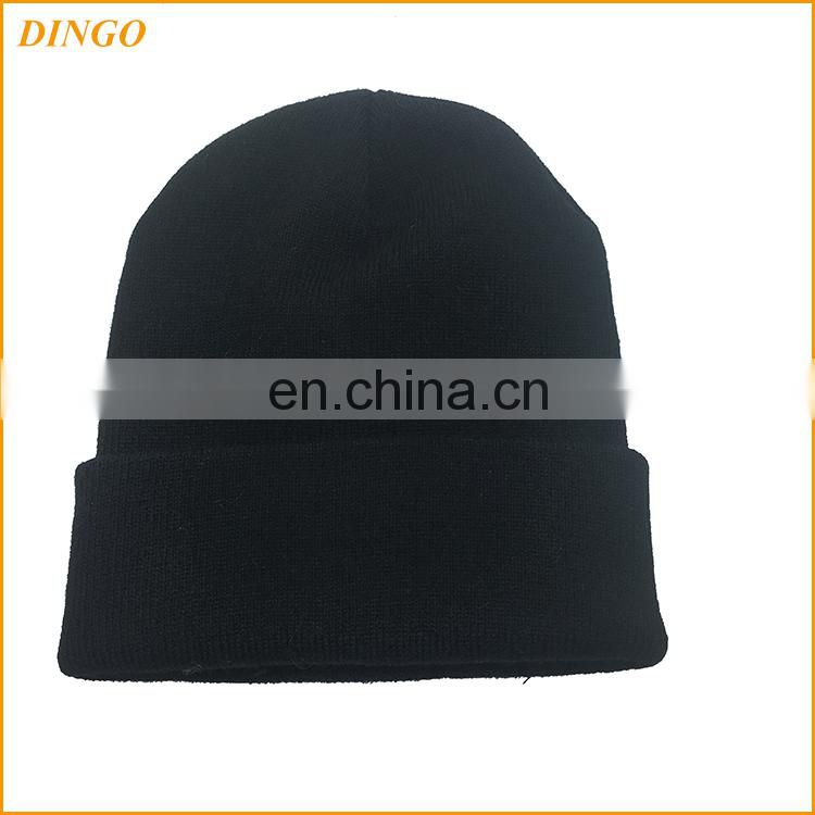 New Fashion Men Women Top Quality Solid Color Hip-hop Slouch Unisex Knitted Cap