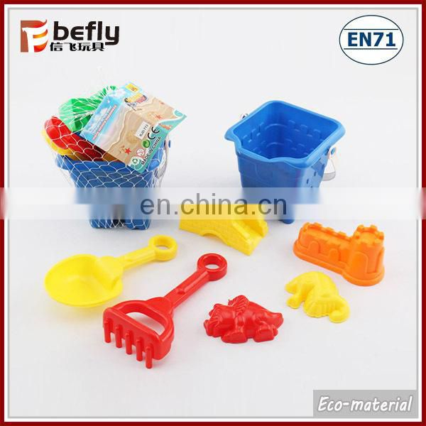 Cartoon animal plastic mini sand molds for kid