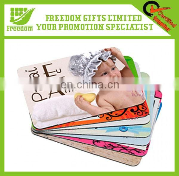 2013 Customized imprint colorful mouse pad