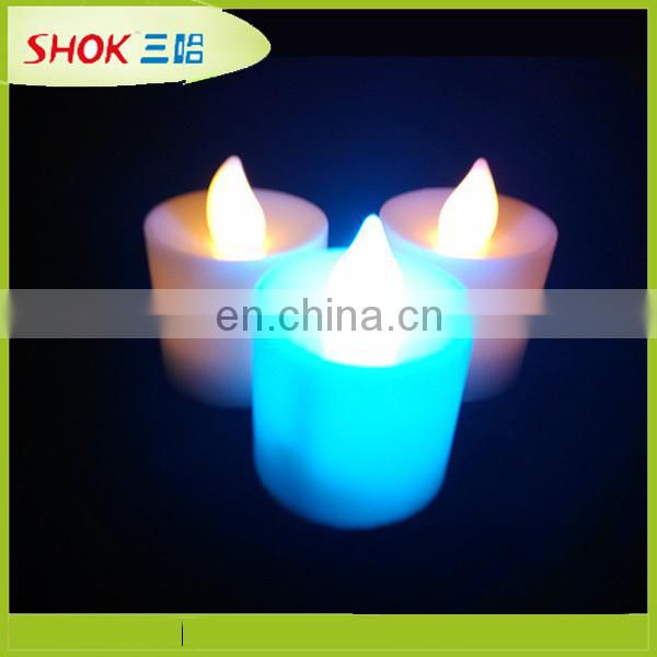 Decorative flashing led candle, candle molds, coffe cup candle