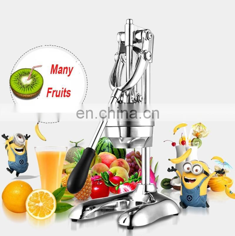 Stainless Steel Fruit Manual Juicer Making Machine Press Lemon Orange Juicer