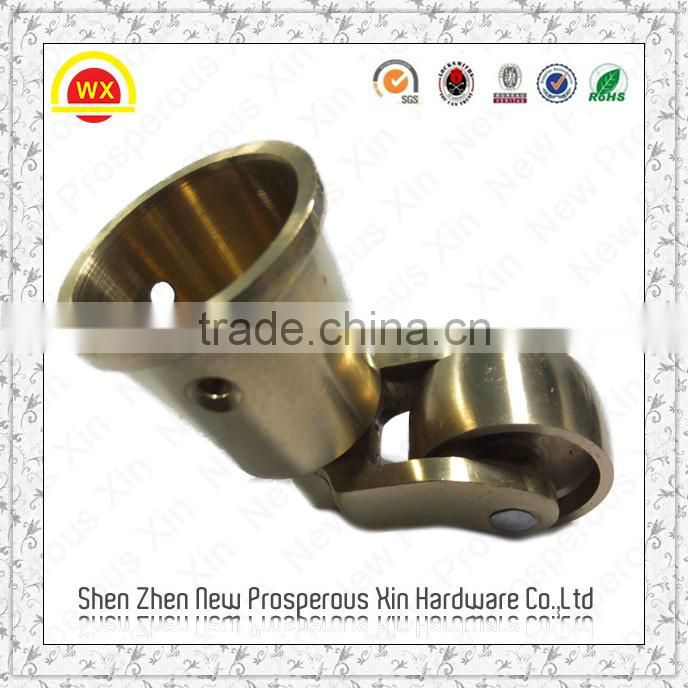 Heavy Solid Br Cup Decorative Furniture Metal Table Leg Caps