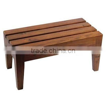 Spa wooden step for used beauty salon furniture DS-YS003