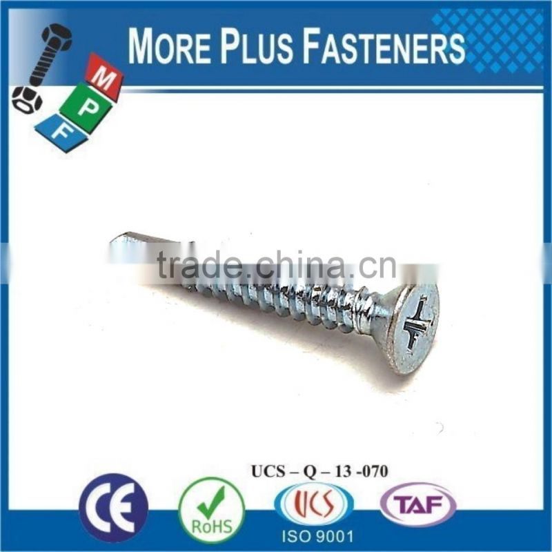 Made In Taiwan DIN 7504N Phil Pan Head DIN 7504K Hex Head Screw Washer Face DIN 7504P Phil Countersunk Head Self Drilling Screw