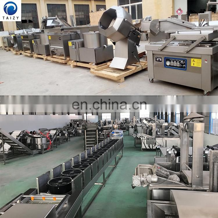 potato chips cutting machine french fries packing machine automatic potato chips making machine