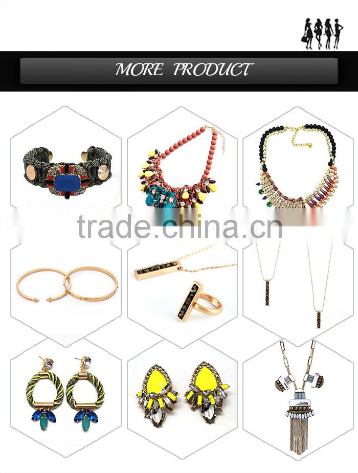 2015 Latest China New Pendant Jewelries Women Fashion african beads Jewelry Set cup chain jewelry set