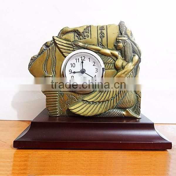 2017 new hot sale cheap outdoor table clock