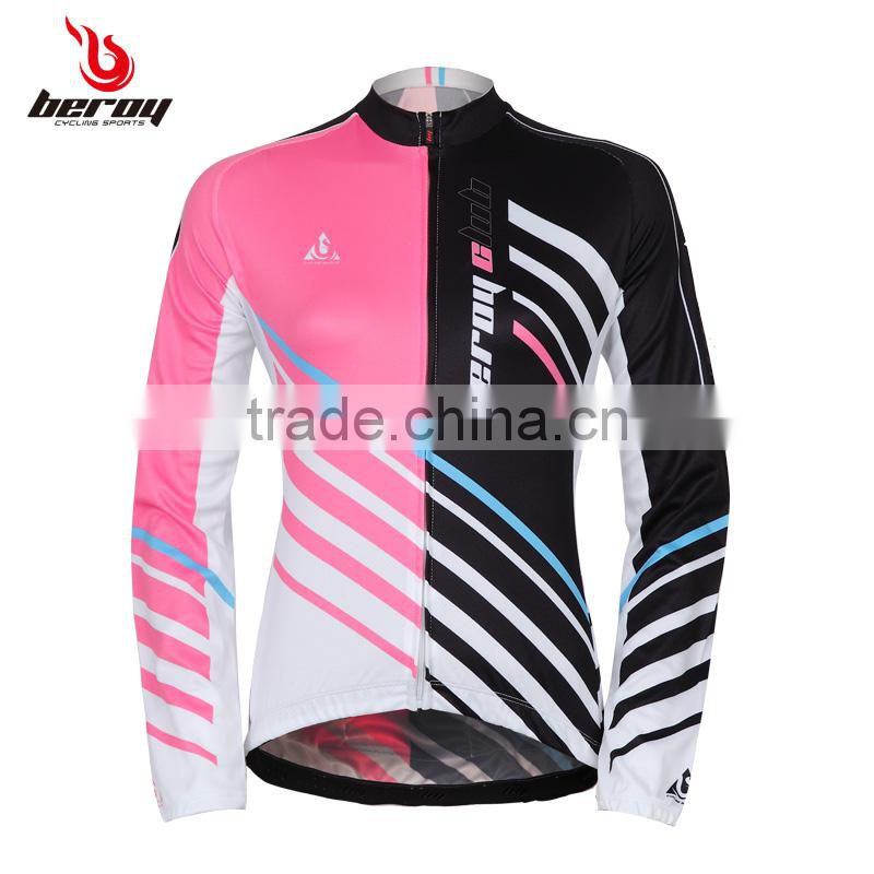 BEROY winter design women cycling jacket, tour de France cycling jersey