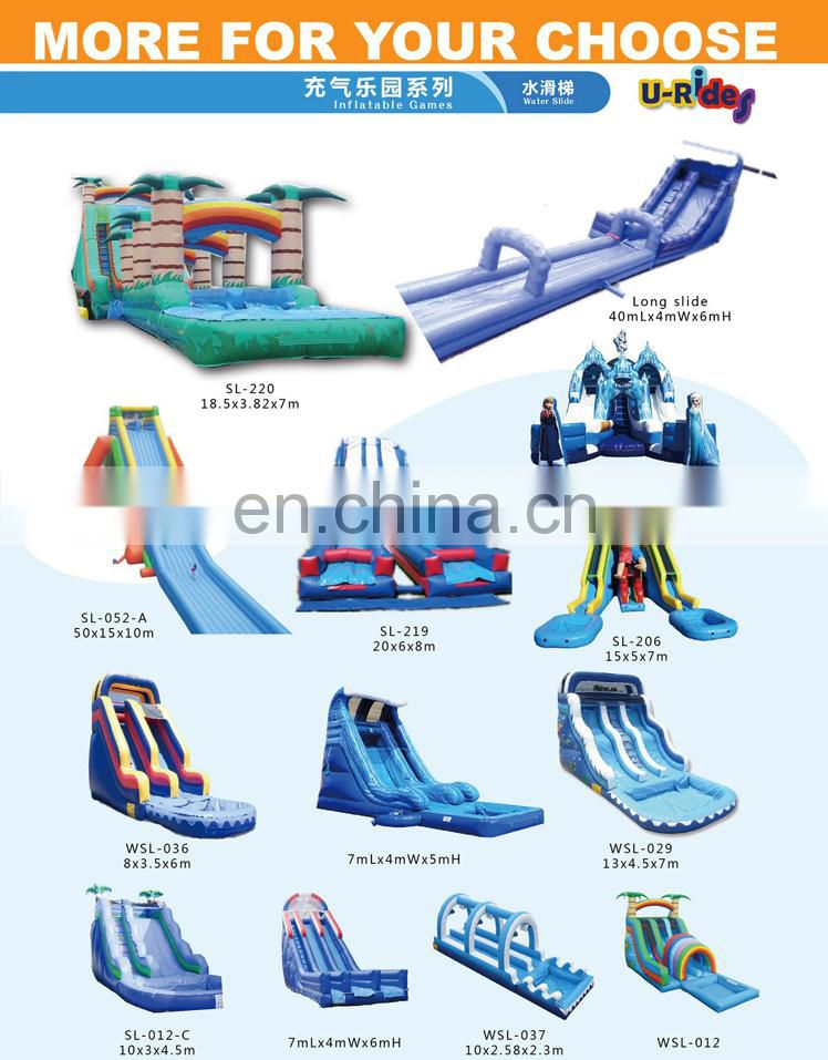 hot sale big inflatable slides
