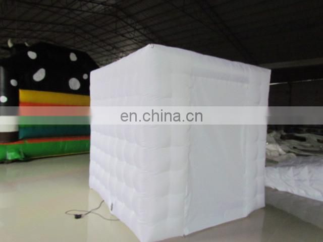 LED inflatable photo booth,inflatable oxford fabric tent