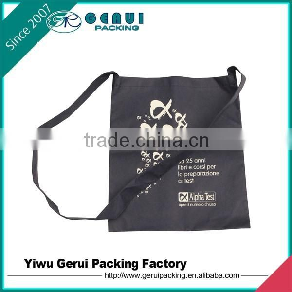 Reusable Custom non woven shoulder Bag for promotion