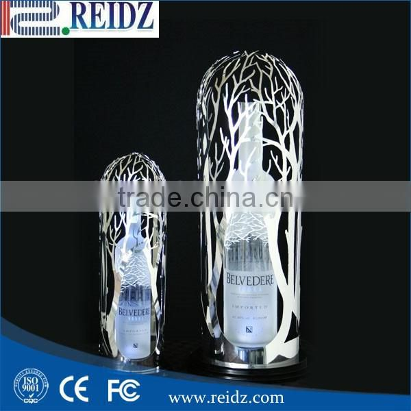LED acrylic wine holder