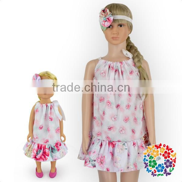 2016 Wholesale Fashion Collection American Girl Doll Clothes Boutique Dress Clothes Display Doll Lovely Modern Girl Dolls Dress
