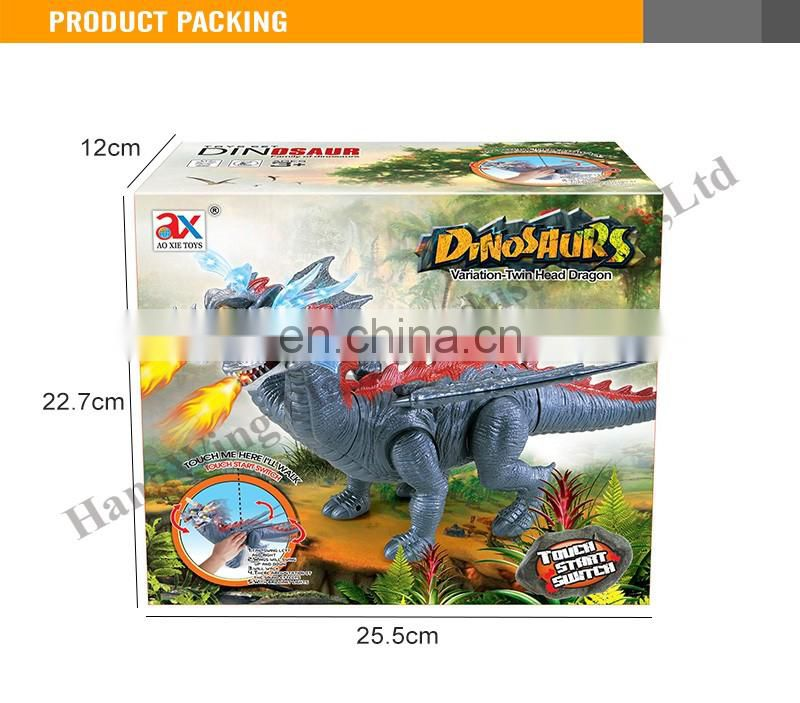 Best sale battery operated lighting walking dinosaur toy