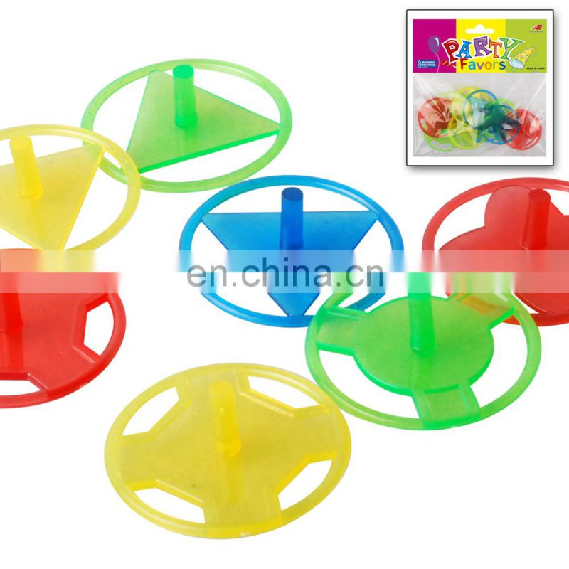 Hot Sale Craze plastic small Toy Spinning Super Peg Top For Kids