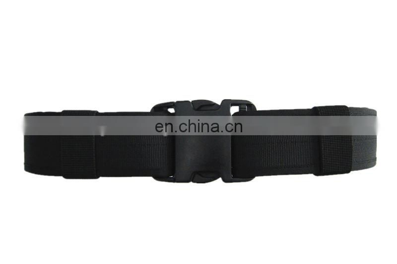 Black PP material army stable belt