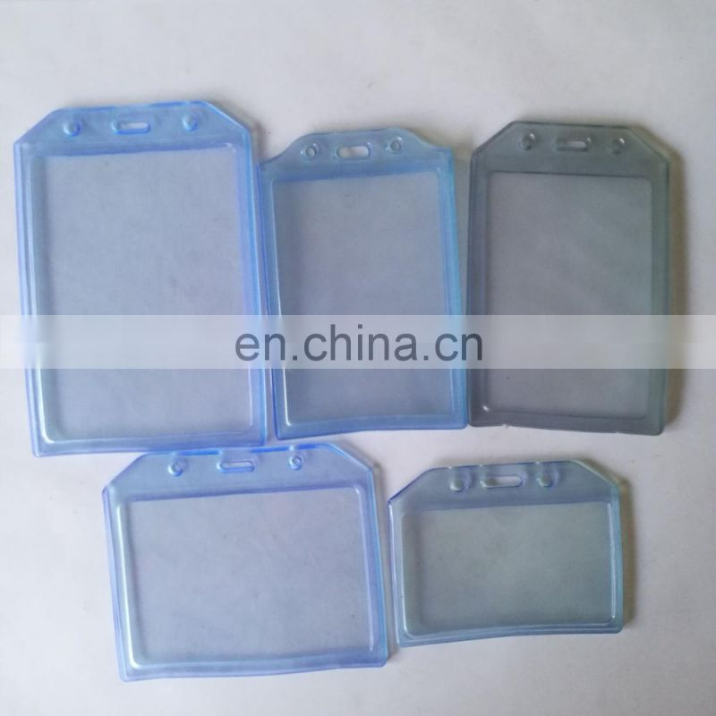 A7 size soft card holder in horizontal shape inner size at 105*74mm