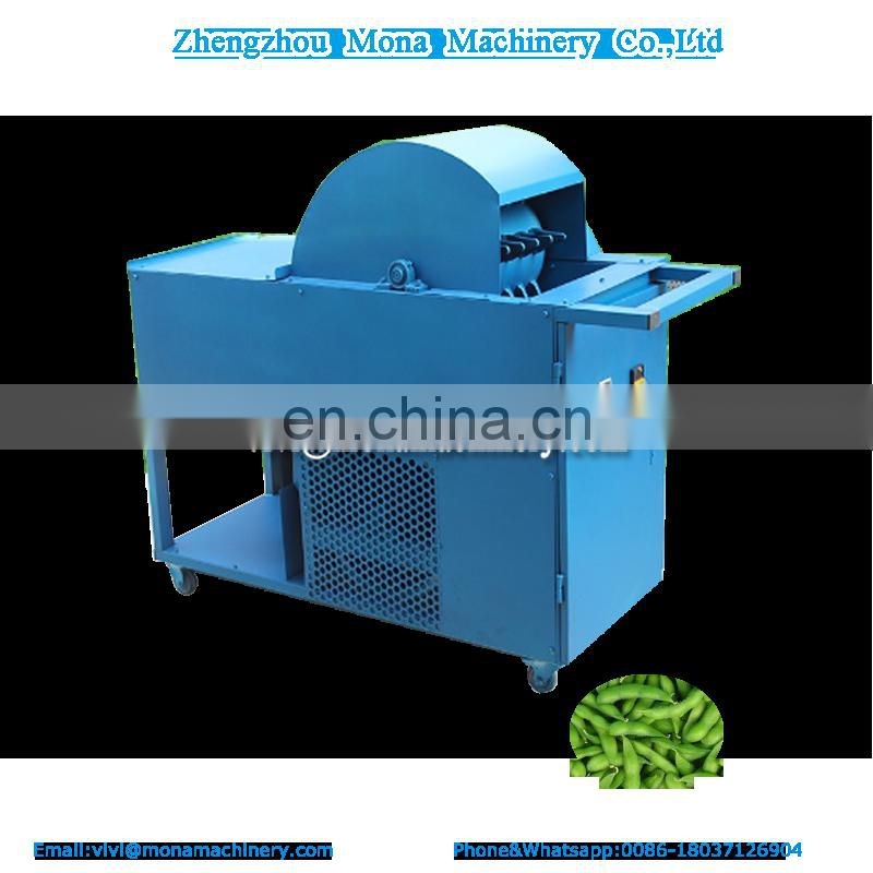 Automatic small new Soybean Picking Machine| Green mungbean Picking Machine|Fresh Bean picker
