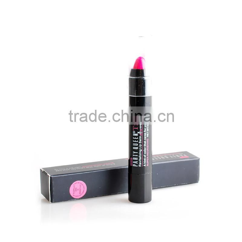 2015 New Sugar box Lipstick Partyqeen Tint 7 Colors Optional waterproof lipgloss