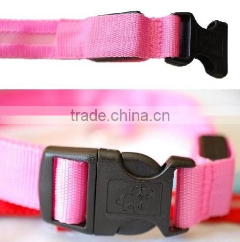 Hot selling led safety collar / led dog collar / Light up collar