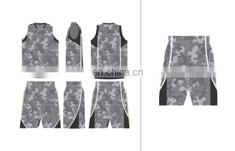 china custom design cheap basketball jersey uniform sublimation camo basketball uniforms
